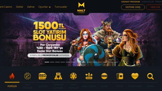 Maltcasino Mobil Giriş Sayfası